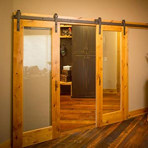 barn doors with french style doors