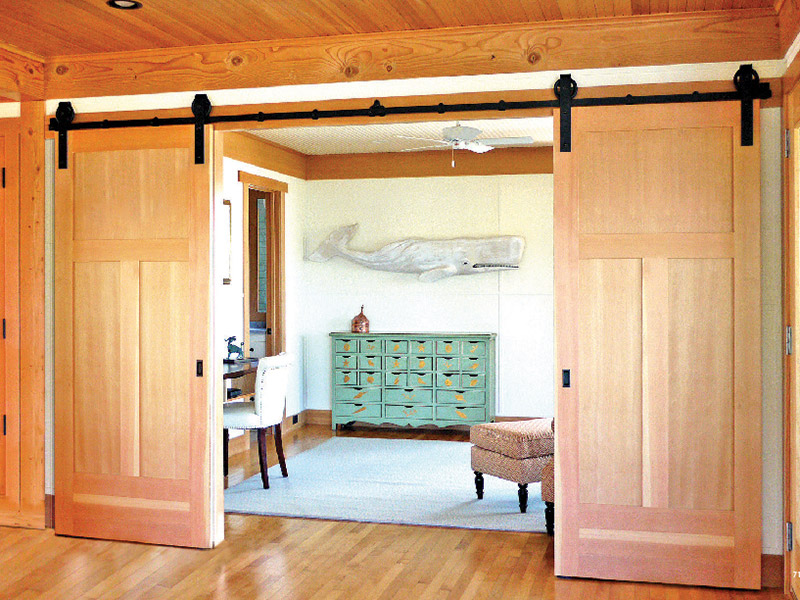 interior barn doors from simpson door company
